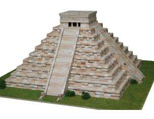 Aedes Ars ADS1270 TEMPIO DI KUKULCAN MEXICO SEC.XII PCS 4500 KIT 1:175 Modellino