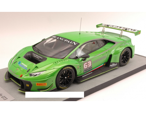 looksmart ls1805a lamborghini huracan gt3 metallic green 1 18 modellino die cast models. Black Bedroom Furniture Sets. Home Design Ideas