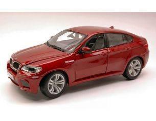 Bburago BU12081R BMW X6 M 2010 RED 1:18 Modellino