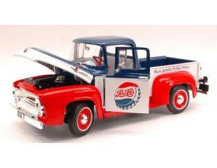 Auto World AW216 FORD F-100 1956 PEPSI COLA 1:18 Modellino
