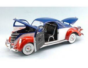 Auto World AW205 LINCOLN ZEPHYR COUPE' 1937 PEPSI COLA 1:18 Modellino