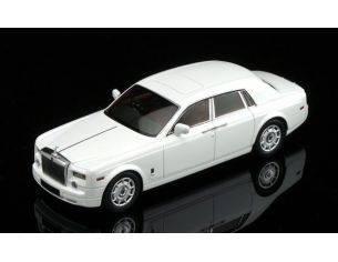 True Scale Miniatures TSM114324 ROLLS ROYCE PHANTOM SEDAN 2009 ENGLISH WHITE 1:43 Modellino