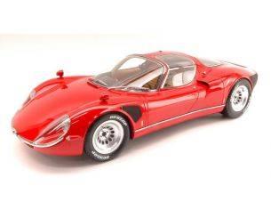 Premium Classixx PREM40035 ALFA ROMEO TIPO 33 STRADALE 1967 RED 1:12 Modellino