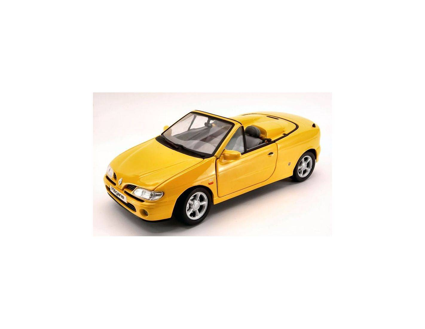 Anson AS0342Y RENAULT MEGANE CONVERTIBLE 1996 YELLOW 1:18 Modellino