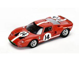 Spark Model S4073 FORD GT40 N.14 ACCIDENT LM 1966 P.SUTCLIFFE-D.SPOERRY 1:43 Modellino