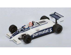 Spark Model S4347 BRABHAM BT49C N.PIQUET 1981 N.5 WINNER ARGENTINA GP WORLD CHAMPION 1:43 Modellino