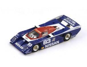 Spark Model S43SE89 NISSAN GTP ZXT N.83 WINNER SEBRING 1989 BRABHAM-ROBINSON-LUYENDYK 1:43 Modellino