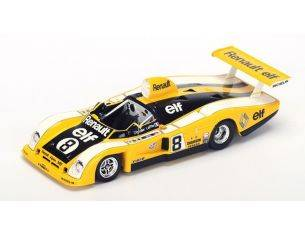 Spark Model S1554 RENAULT ALPINE A442 N.8 23th LM 1977 P.DEPAILLER-J.LAFFITE 1:43 Modellino