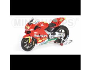 Minichamps 122061024 Honda RC211V Team Spain's n° 1 Rider Toni Elias MotoGP 2006 Modellino