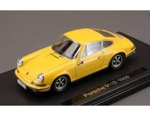 Ebbro EB44793 PORSCHE 911S 1969 YELLOW 1:43 Modellino