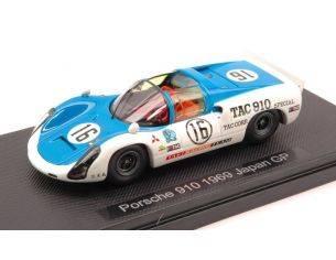 Ebbro EB44792 PORSCHE 910 N.16 JAPAN GP 1968 KAZATO-HASEGAWA 1:43 Modellino
