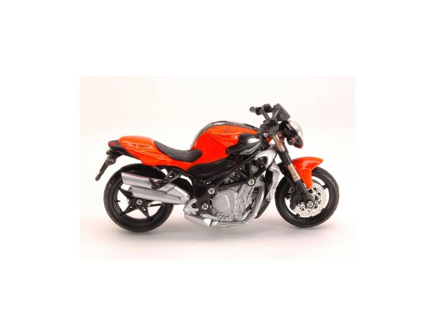 BBURAGO 51030 MV AGUSTA BRUTALE 1090 RR ROSSO scala 1:18 modello moto NUOVO °