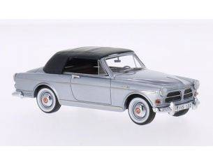 Neo Scale Models NEO45213 VOLVO AMAZON COUNE CONVERTIBLE CANOPY CLOSED SILVER 1:43 Modellino