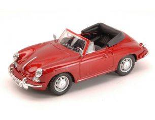 Cararama Motorama CA10380 PORSCHE 356B 1959 RED MET.1:43 Modellino