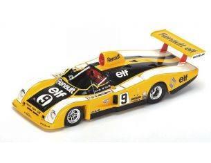 Spark Model S1555 ALPINE A442 N.9 RETIRED LM 1977 J.P.JABOUILLE-D.BELL 1:43 Modellino