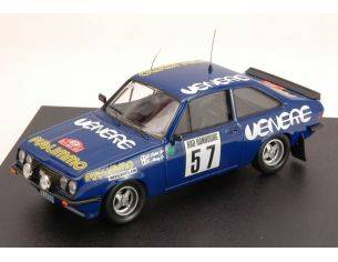 Trofeu TF1811 FORD ESCORT RS 2000 N.57 RETIRED MONTE CARLO 1981 LOUBET-ALEMANY 1:43 Modellino