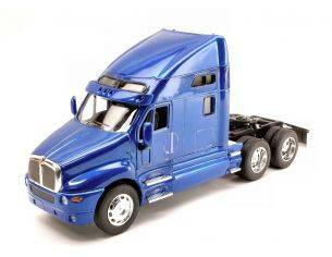 Welly WE2210BL KENWORTH T2000 2007 METALLIC BLUE 1:32 Modellino