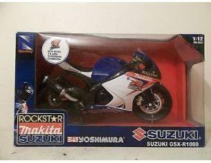 New Ray NY49553I SUZUKI GSX-R 1000 YOSHIMURA No.6 1:12 Modellino