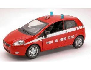 New Ray NY71136 FIAT GRANDE PUNTO VIGILI DEL FUOCO 1:24 Modellino