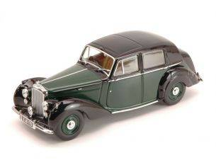 Oxford OXFBN6003 BENTLEY MK VI BREWSTER GREEN/BLACK 1:43 Modellino