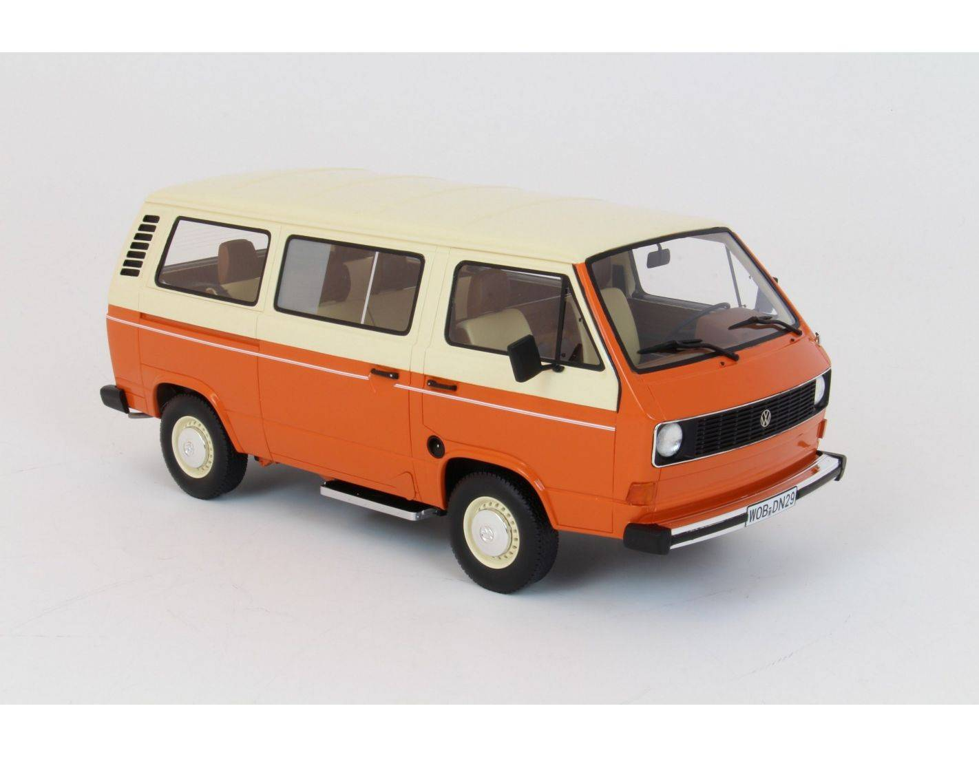 premium classixx prem30025 vw t3 bus 1979 orange beige 1 18 modellino. Black Bedroom Furniture Sets. Home Design Ideas
