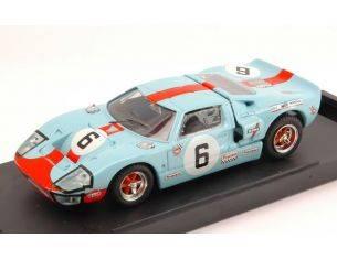 Bang BG7074 FORD GT 40 N.6 WINNER LE MANS 1969 J.ICKX-J.OLIVER 1:43 Modellino