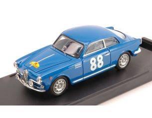 Bang BG7154 ALFA ROMEO GIULIETTA SPRINT N.88 WINNER T.D.CORSE 1957 CAT.1300 GT 1:43 Modellino