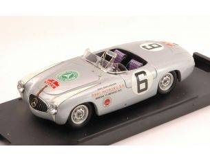 Bang BG7207 MERCEDES 300 SL N.6 DISQUALIFIED CARRERA PANAM.1952 FITCH-GEIGER 1:43 Modellino