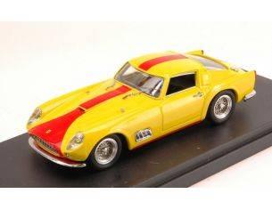 Bang BG7289 FERRARI 250 GT TDF STREET 1958 YELLOW W/RED STRIPES 1:43 Modellino