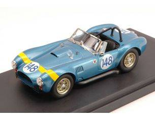 Bang BG7339 FORD AC COBRA N.148 RETIRED TARGA FLORIO 1964 IRELAND-GREGORY 1:43 Modellino