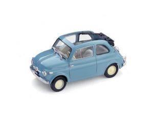 Brumm BM0340-04 FIAT 500 ECONOMICA APERTA 1957 CELESTE CHIARO 1:43 Modellino