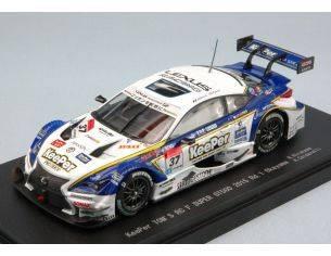 Ebbro EB45265 LEXUS RC F N.37 WINNER OKAYAMA SUPER GT500 2015 HIRAKAWA-CALDARELLI 1:43 Modellino