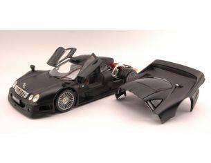 Maisto MI36849BK MERCEDES CLK-GTR STREET VERSION 1997 MATT BLACK  1:18 Modellino