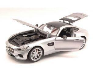 Maisto MI36204S MERCEDES AMG GT 2014 SILVER 1:18 Modellino