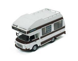 IST Models IST297 BARKAS B1000 1973 WHITE WOHNMOBIL 1:43 Modellino
