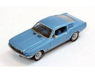 PremiumX PRD367 FORD MUSTANG GT FASTBACK 1967 METALLIC LIGHT BLUE 1:43 Modellino