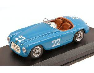 Art Model AM0330 FERRARI 166 MM BARCHETTA N.22 11th PRIX MONTE CARLO 1952 L.FARNAUD 1:43 Modellino