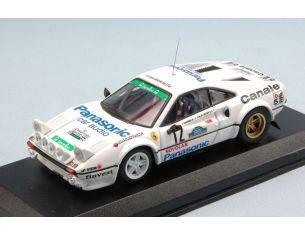 Best Model BT9600 FERRARI 308 N.12 WINNER TARGA FLORIO RALLY 1982 TOGNANA-DE ANTONI 1:43 Modellino