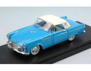 Rio RI4484 FORD THUNDERBIRD 1956 LIGHT BLUE W/WHITE SOFT TOP 1:43 Modellino