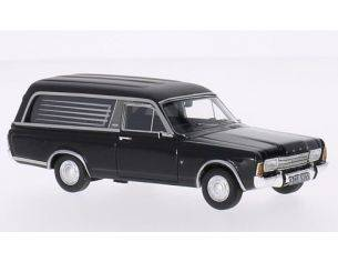 Neo Scale Models NEO45265 FORD TAUNUS P7 PULLMANN BLACK FUNERAL VEHICLE 1:43 Modellino