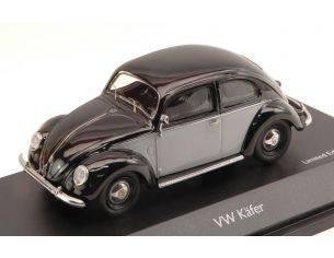 Schuco SH3877 VW KAFER 1951 GREY/BLACK 1:43 Modellino