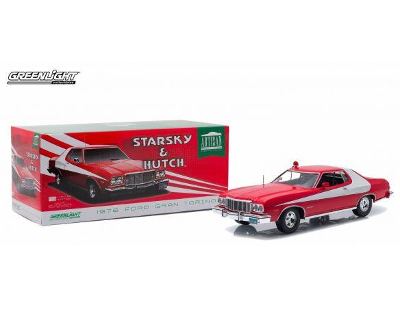 Greenlight GREEN19017 FORD GRAN TORINO STARSKY & HUTCH TV SERIES 1975-79 1:18 Modellino