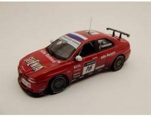 Best Model M47030 ALFA ROMEO 156 GTA WTCC 2007 1/43 Modellino difettoso