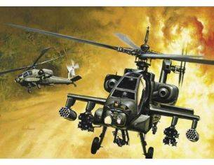 Italeri IT0159 AH-64 APACHE KIT 1:72 Modellino