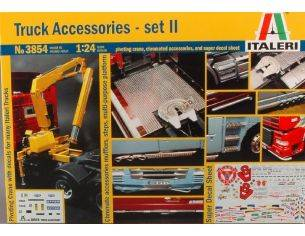 Italeri IT3854 ACCESSORI TRUCK SERIE II KIT 1:24 Modellino