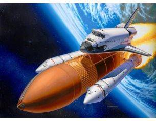 Revell RV04736 SPACE SHUTTLE DISCOVERY & BOOSTER ROCKETS KIT 1:144 Modellino