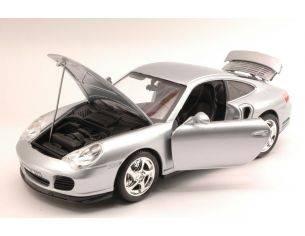 Bburago BU12030S PORSCHE 911 TURBO 2000 SILVER 1:18 Modellino
