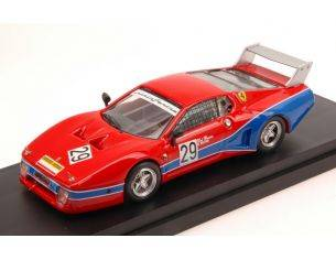 Best Model BT9613 FERRARI 512 BB LM N.29 9th 6 H MUGELLO 1981 G.DEL BUONO-O.GOVONI 1:43 Modellino