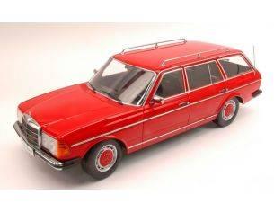 KK Scale KK180092 MERCEDES 250 T (W123) STATION WAGON 1978 RED 1:18 Modellino