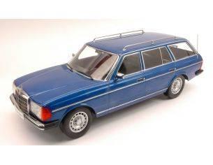 KK Scale KK180091 MERCEDES 250 T (W123) STATION WAGON 1978 BLUE METALLIC 1:18 Modellino